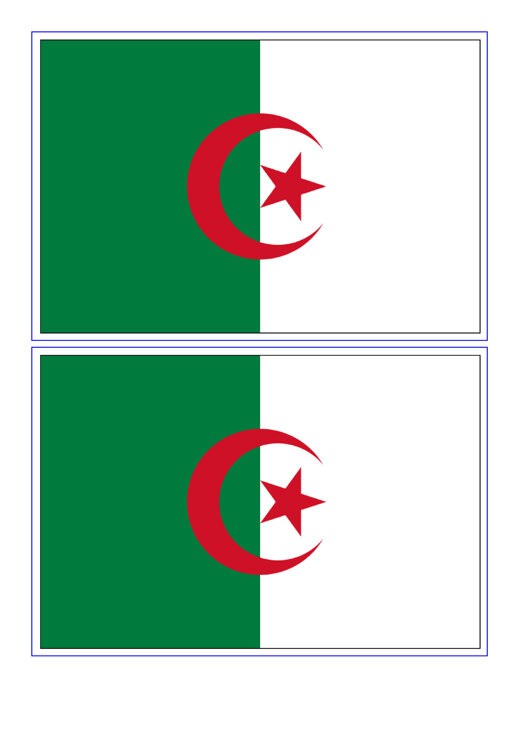 template topic preview image Algeria Flag