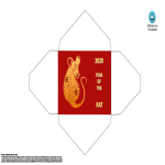 template topic preview image Chinese New Year Rat Hongbao