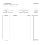 template topic preview image Purchase Order template