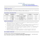 template topic preview image MBA Fresher Professional Resume