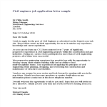 template topic preview image Civil Engineer Job Application Letter