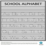 template topic preview image Learn how to write alphabet preschool