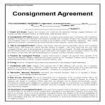 template topic preview image Consignment Agreement