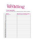 template topic preview image Wedding Guest List Template sample
