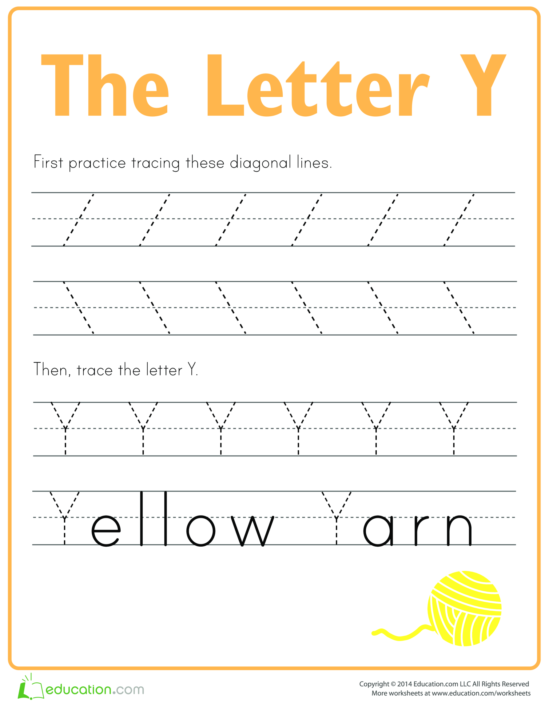 template topic preview image Learn to write letter Y