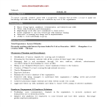 template topic preview image Executive Hrd Resume Sample