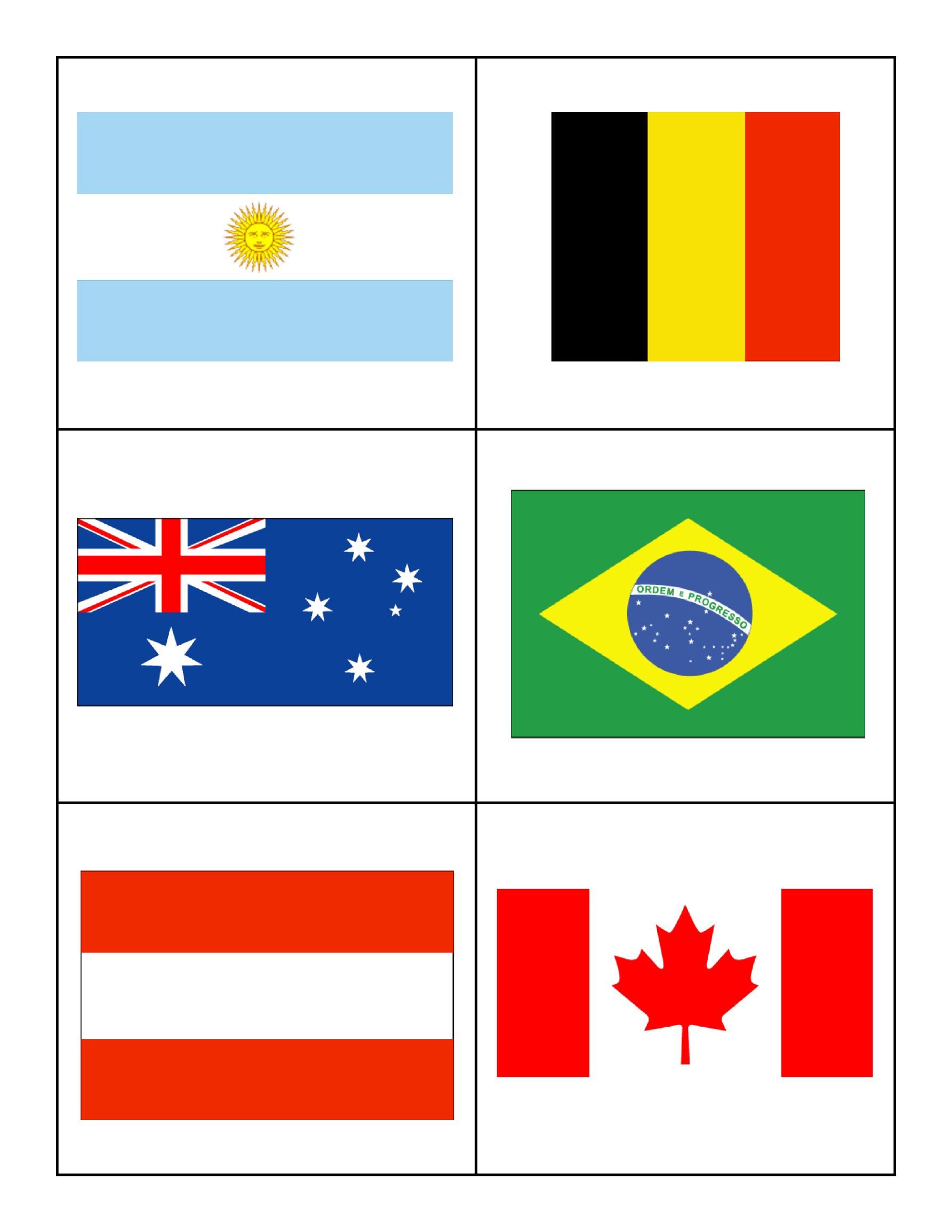 template topic preview image Flags of Countries for Children