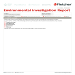 template topic preview image Environment Investigation Report