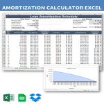 template topic preview image Loan Amortization Schedule Template