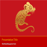 template topic preview image Chinese New Year 2020 Presentation