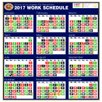 template topic preview image Lacofd Shift Calendar