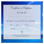 template topic preview image Certificate of Baptism
