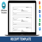 template topic preview image Printable Receipt