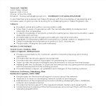 template topic preview image Security Sales Engineer Resume