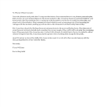 template topic preview image Recommendation Letter sample