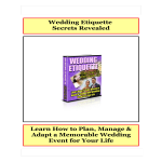 template topic preview image Wedding Gift List Etiquette