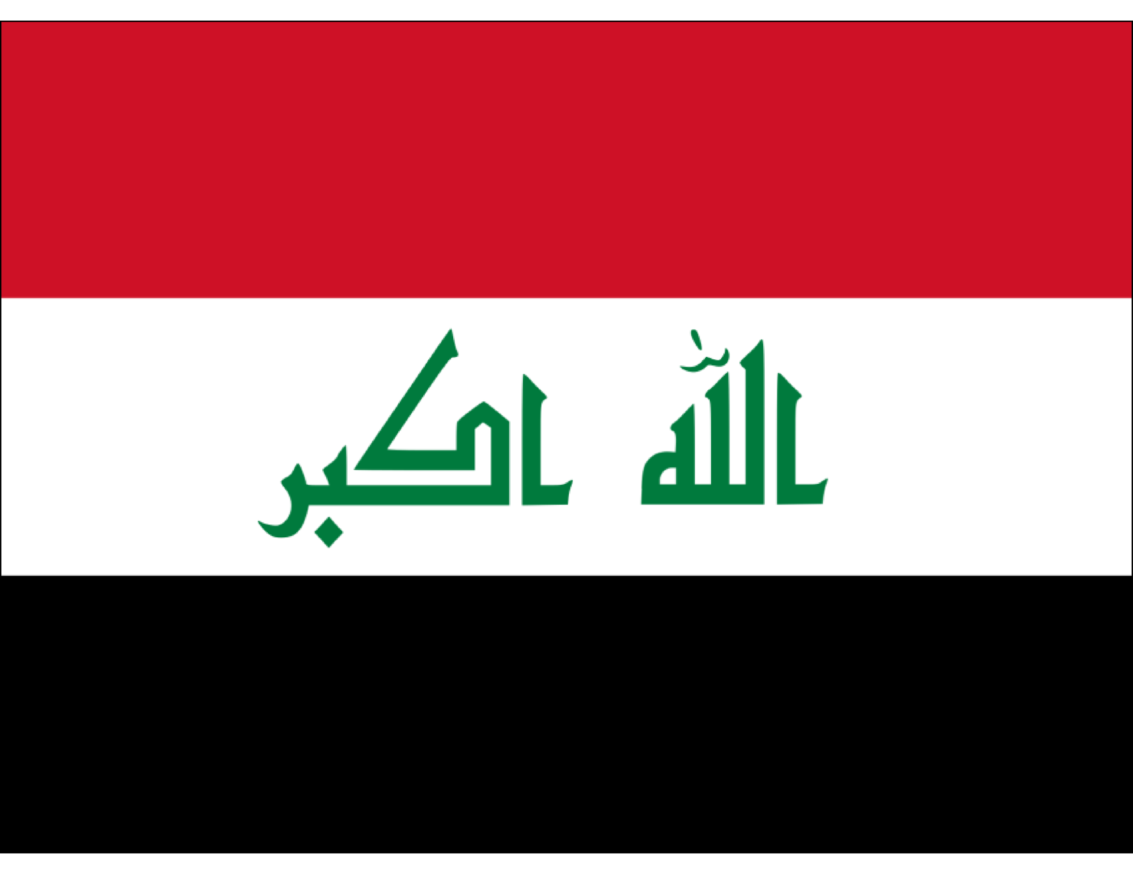 template topic preview image Iraqi printable flag