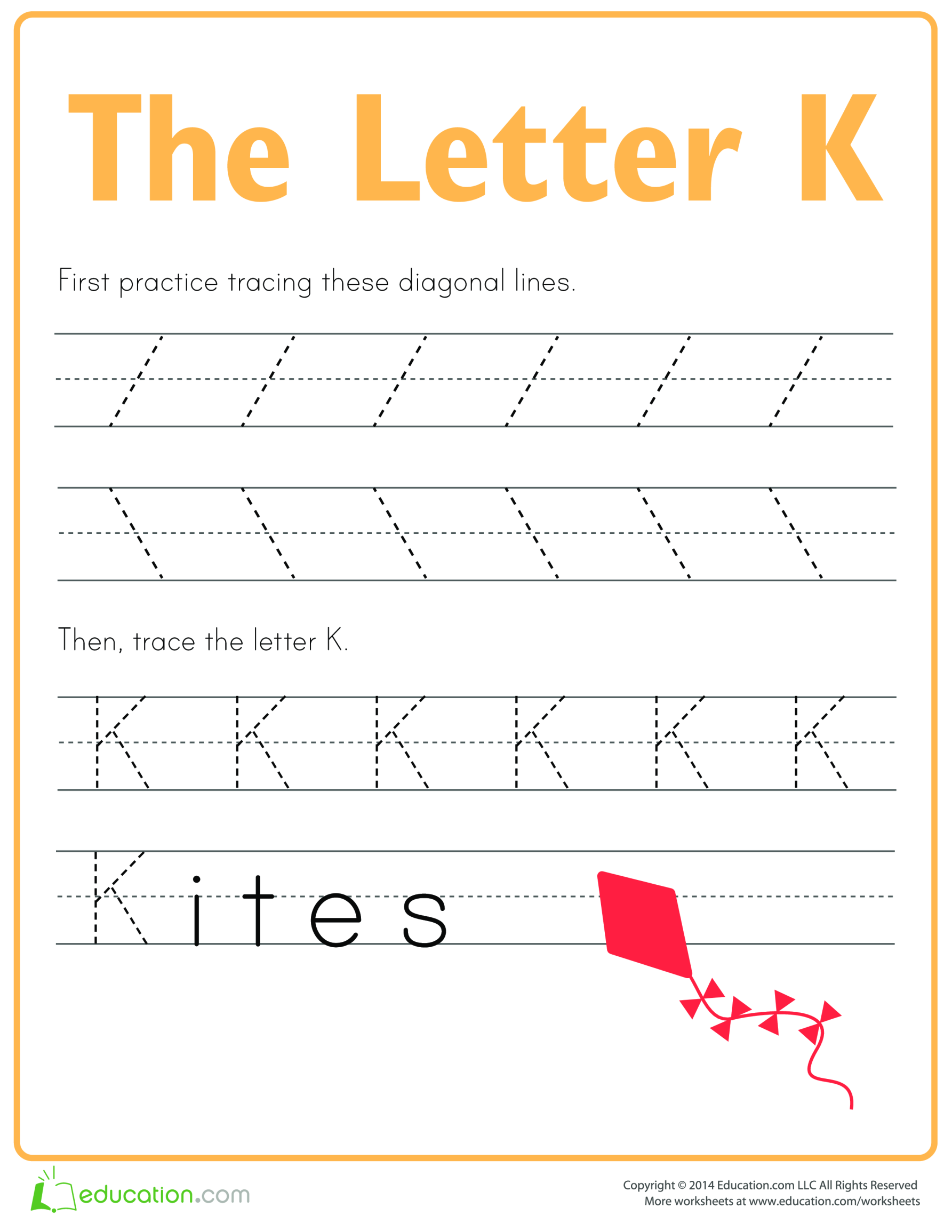 template topic preview image Learn to write letter K