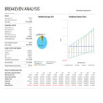 template topic preview image Break-Even Analysis (BEA) Excel template