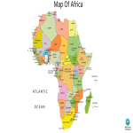template topic preview image Map Of Africa Outline