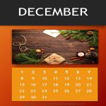 image Annual Photo Calendar Template