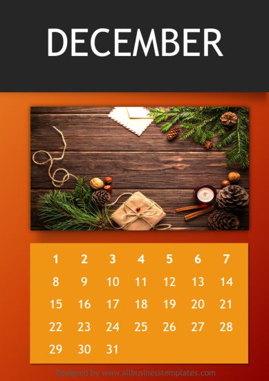 template topic preview image Annual Photo Calendar Template