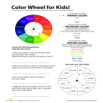 template topic preview image Color Wheel Chart For Kids
