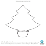 template preview imageDesign Your Own Christmas tree template