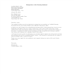 template topic preview image Resignation Letter Nursing Assistant