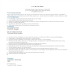 template topic preview image Entry Level Resume