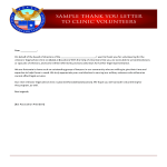 template topic preview image Clinic Volunteer Thank You Letter