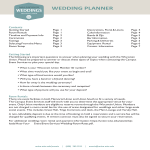 template topic preview image Wedding Planner