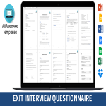 template topic preview image Hr Exit Interview Form