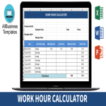 template topic preview image Work Hour Calculator