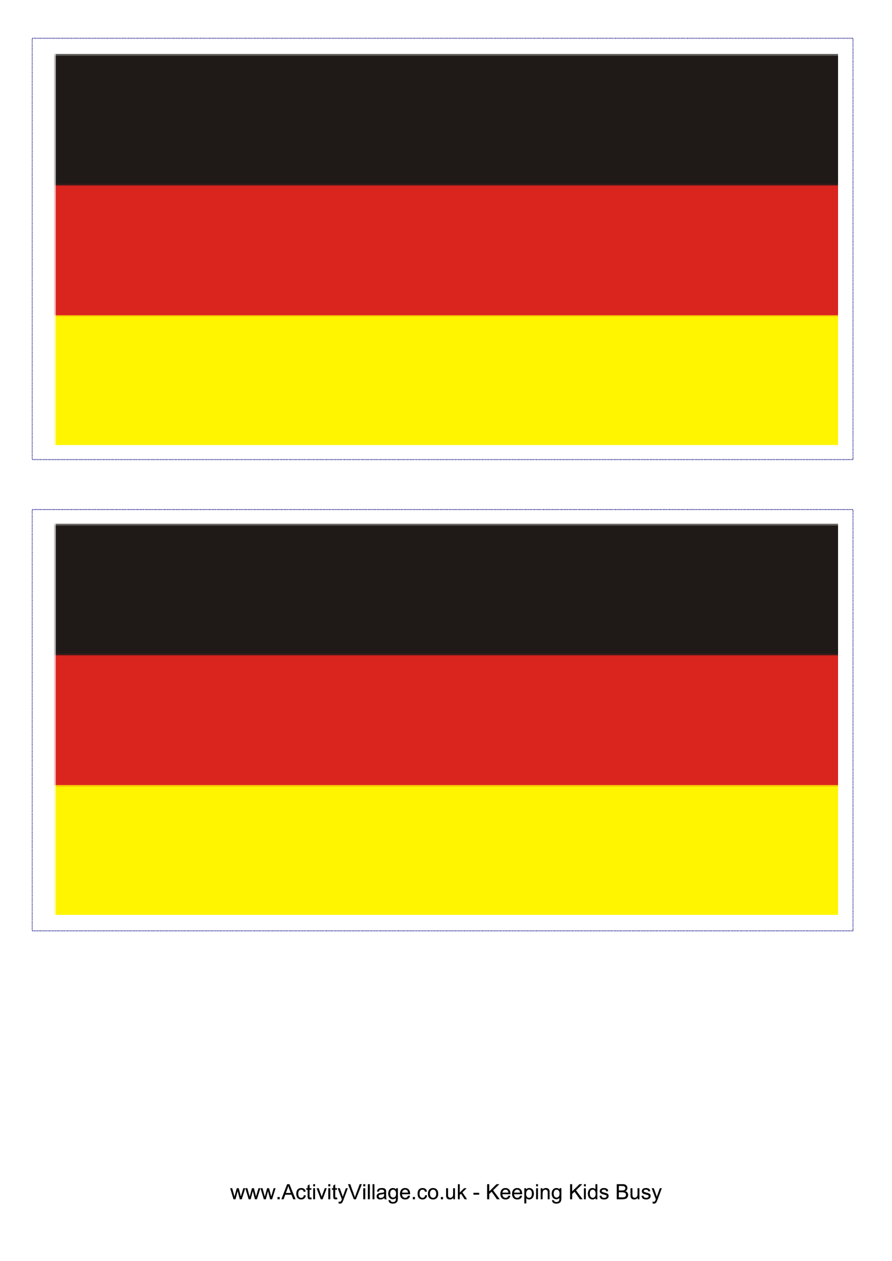 template preview imageGermany Flag
