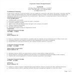 template topic preview image Corporate Finance Analyst Resume