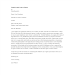 template topic preview image Sample Legal Letter Of Intent