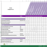 template topic preview image RASCI Matrix Template with Instructions