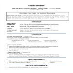 template topic preview image Film Industry Intern Resume