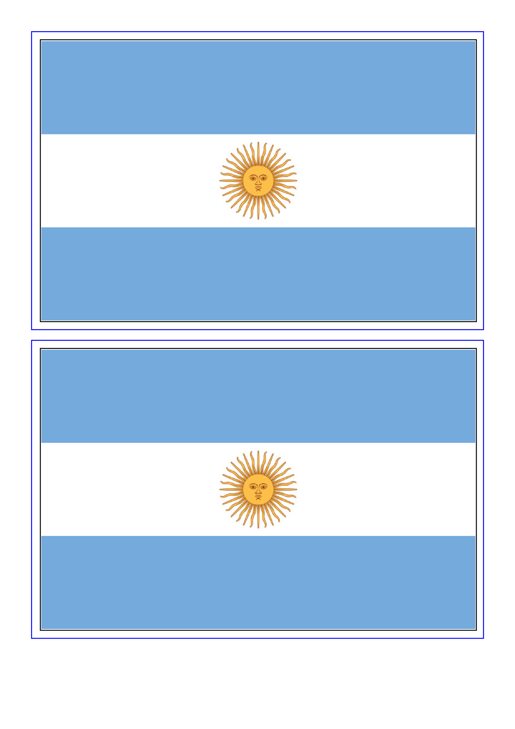 template topic preview image Argentina Flag