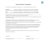 image Advertisement Agreement