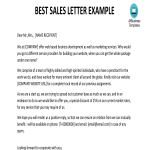 template topic preview image Sales Letter Example