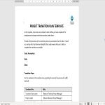 template topic preview image Project Task To Do List