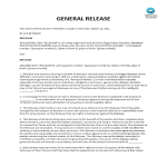 image General Release Waiver Agreement