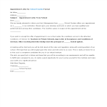 template topic preview image Appointment Letter Format for School Teacher