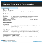 template topic preview image Sample Resume Format For Engineering Student
