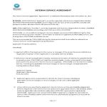 template topic preview image Interim Service Agreement
