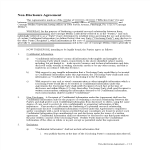 template topic preview image Employee Non Disclosure Agreement Model