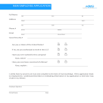 template topic preview image New Employee Application Sheet and HR Policy