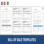 template topic preview image Bill Of Sale Templates